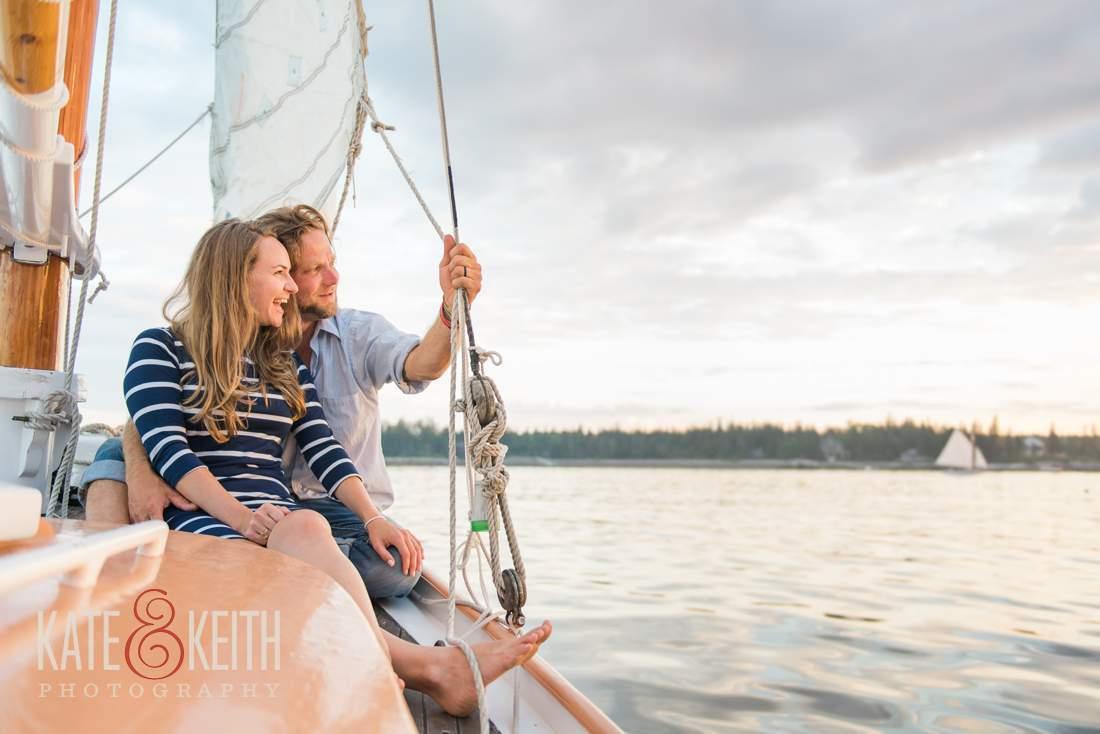 Couple Sailing photo