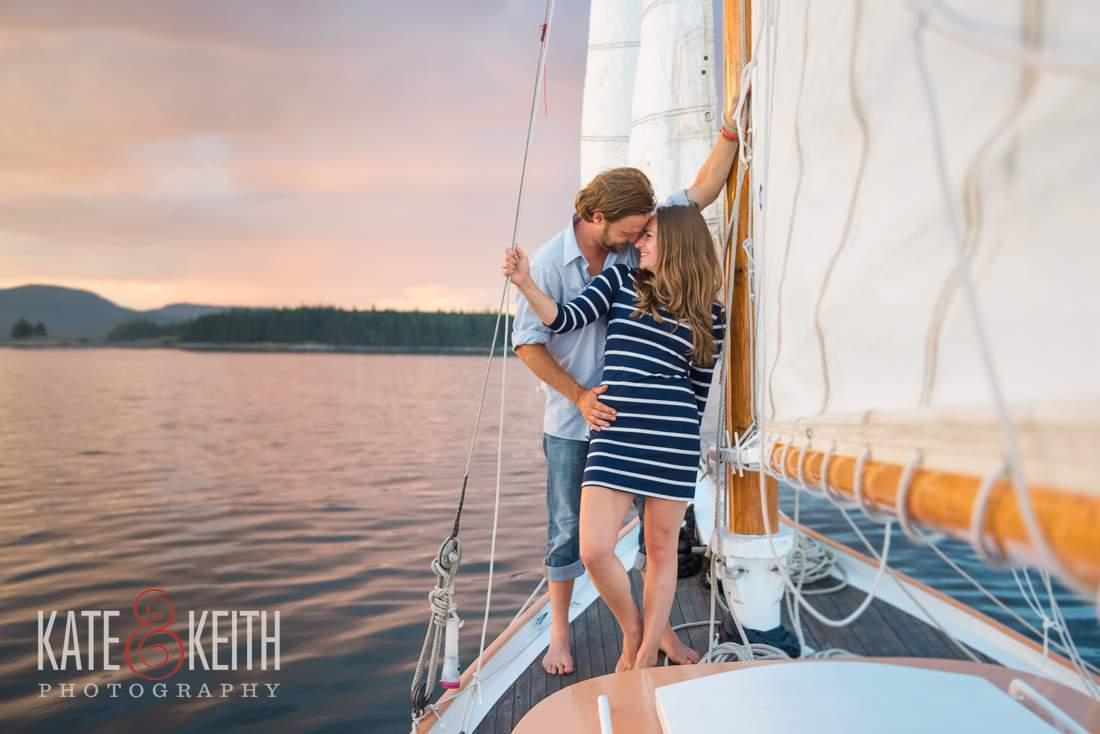 Acadia Sunset Sailing Romantic Adventure