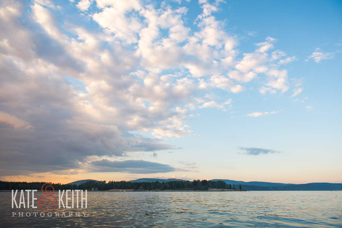 Southwest Harbor Clouds