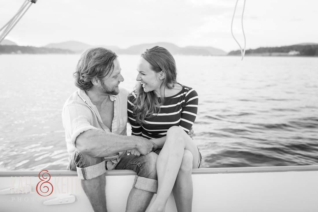 Engagement Photos Sailboat