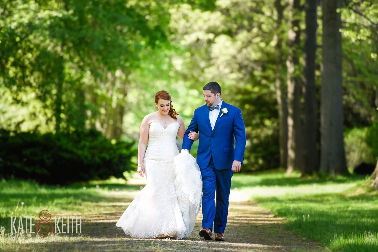 Bride Groom Portraits Glen Magna Farms Carriage Path