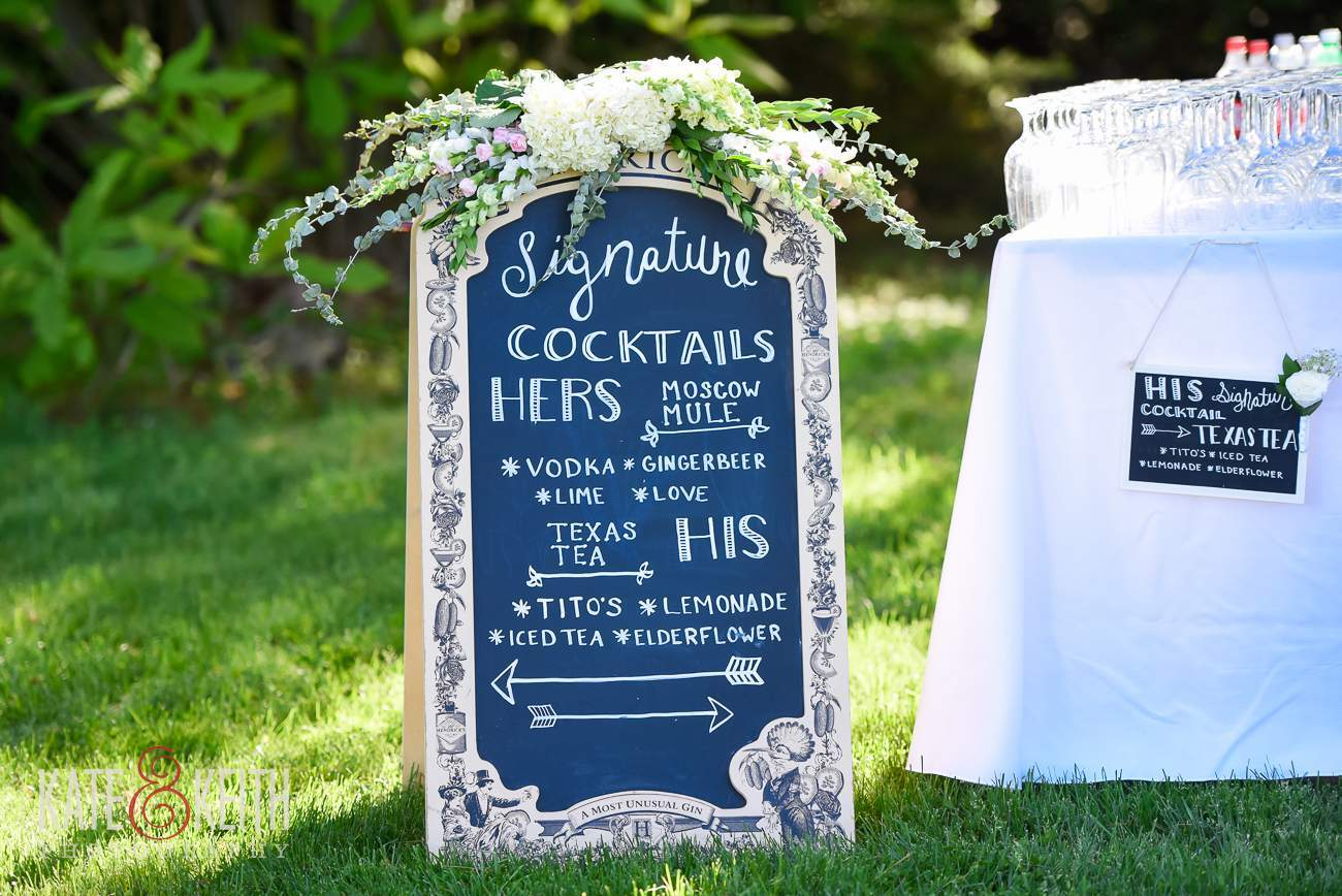 Moscow Mule wedding Signature Drink