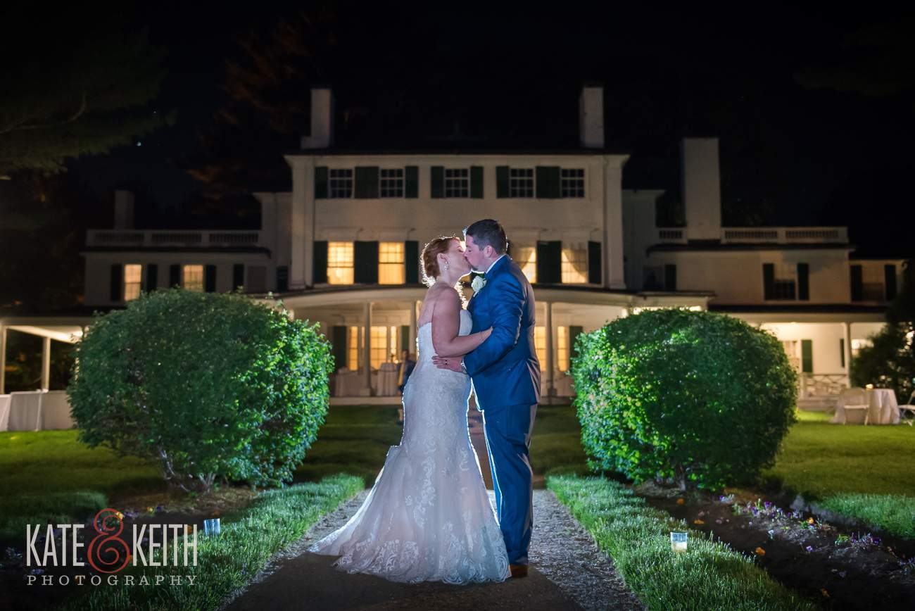 Glen Magna Farms Night Wedding