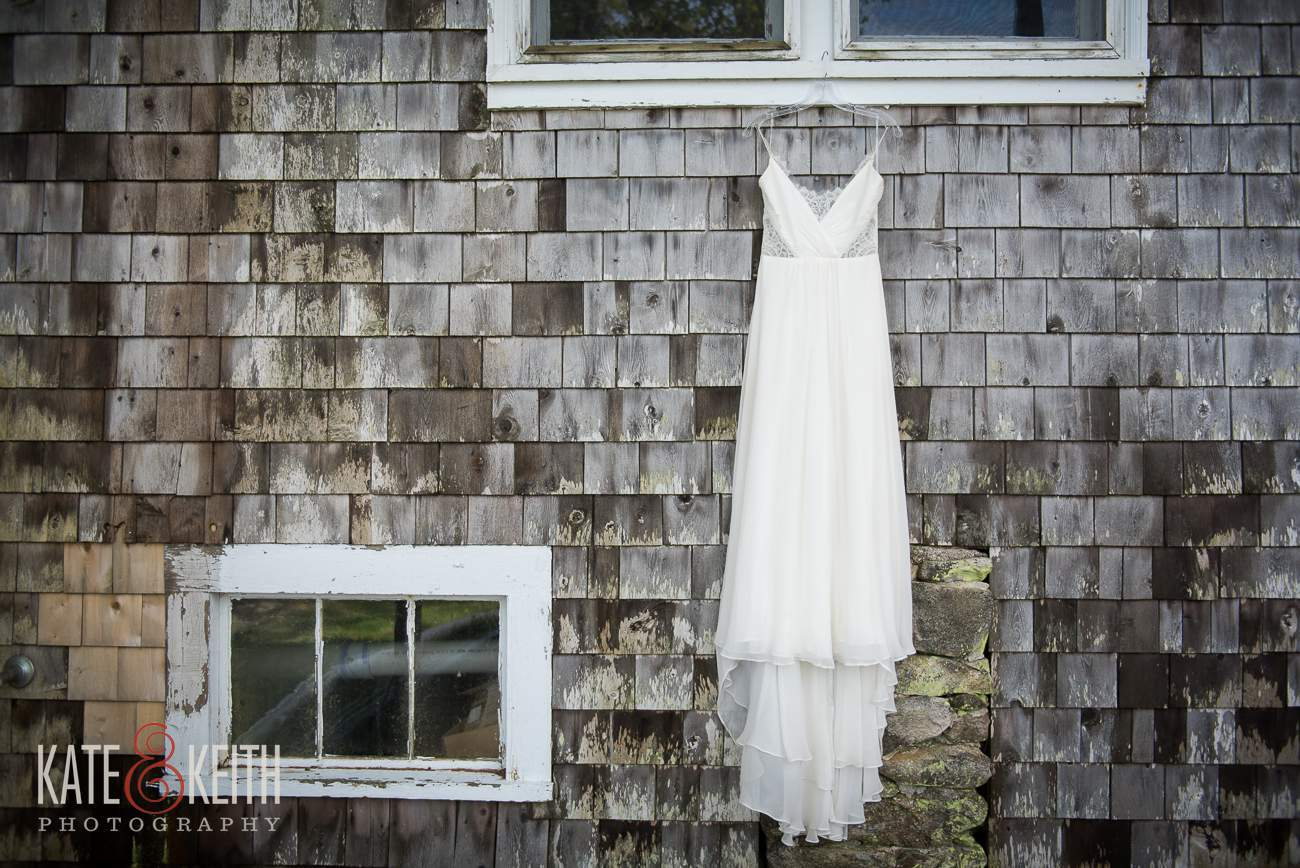 Wedding dress Linekin Bay Resort