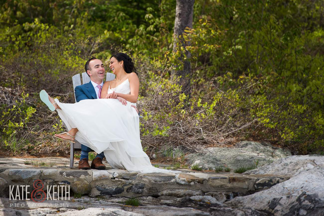 Boothbay Harbor Wedding Bride Groom