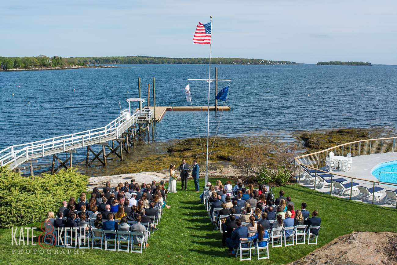 Linekin Bay Resort Ceremony Location