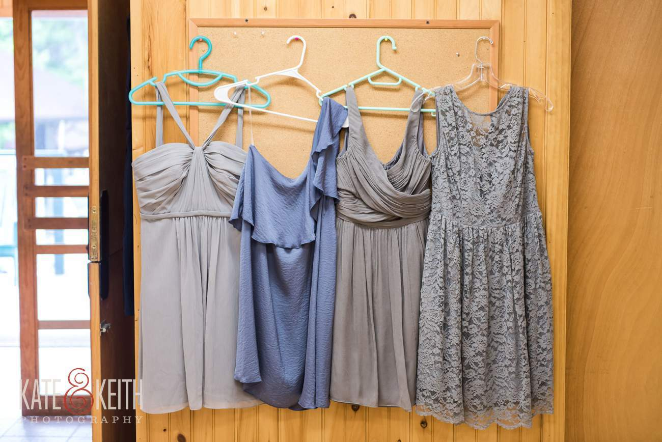 Short bridesmaids dresses