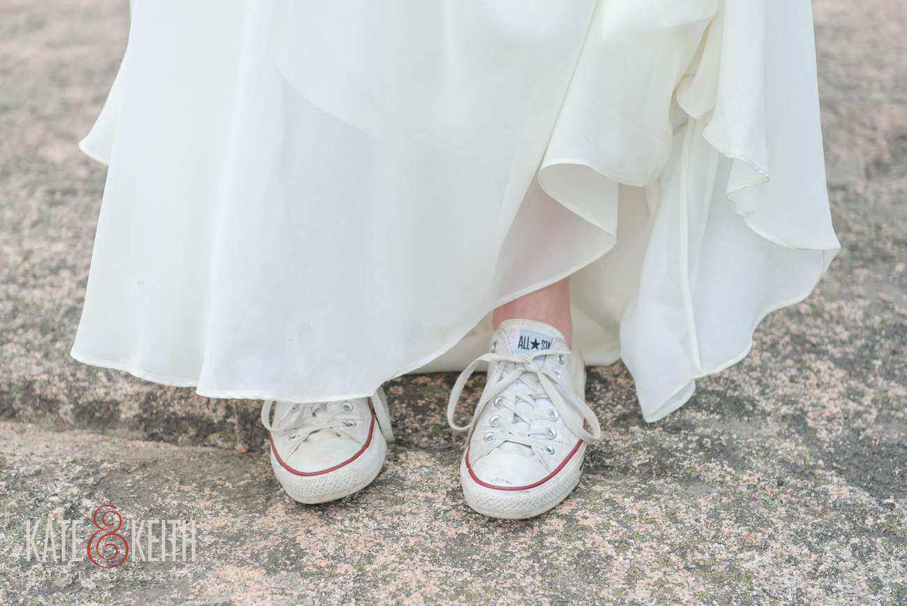 Converse All Star Bride wedding shoes