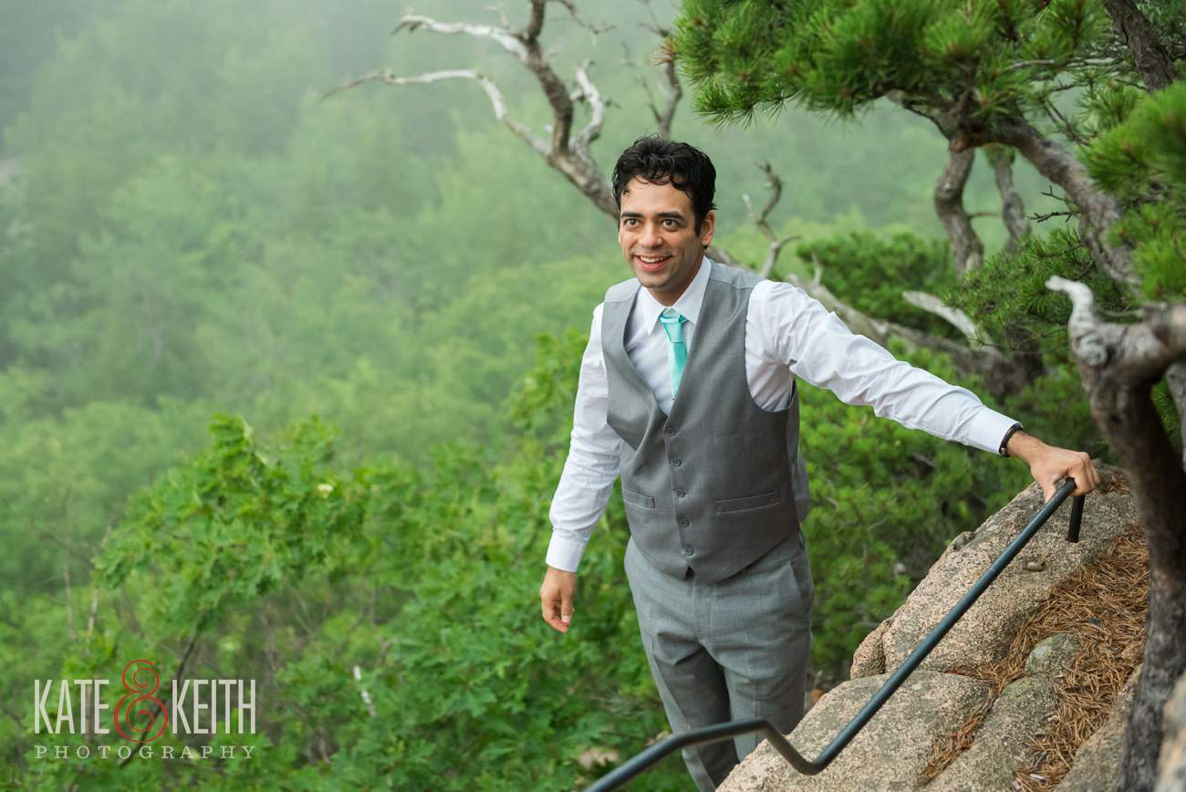 Outdoorsy Groom