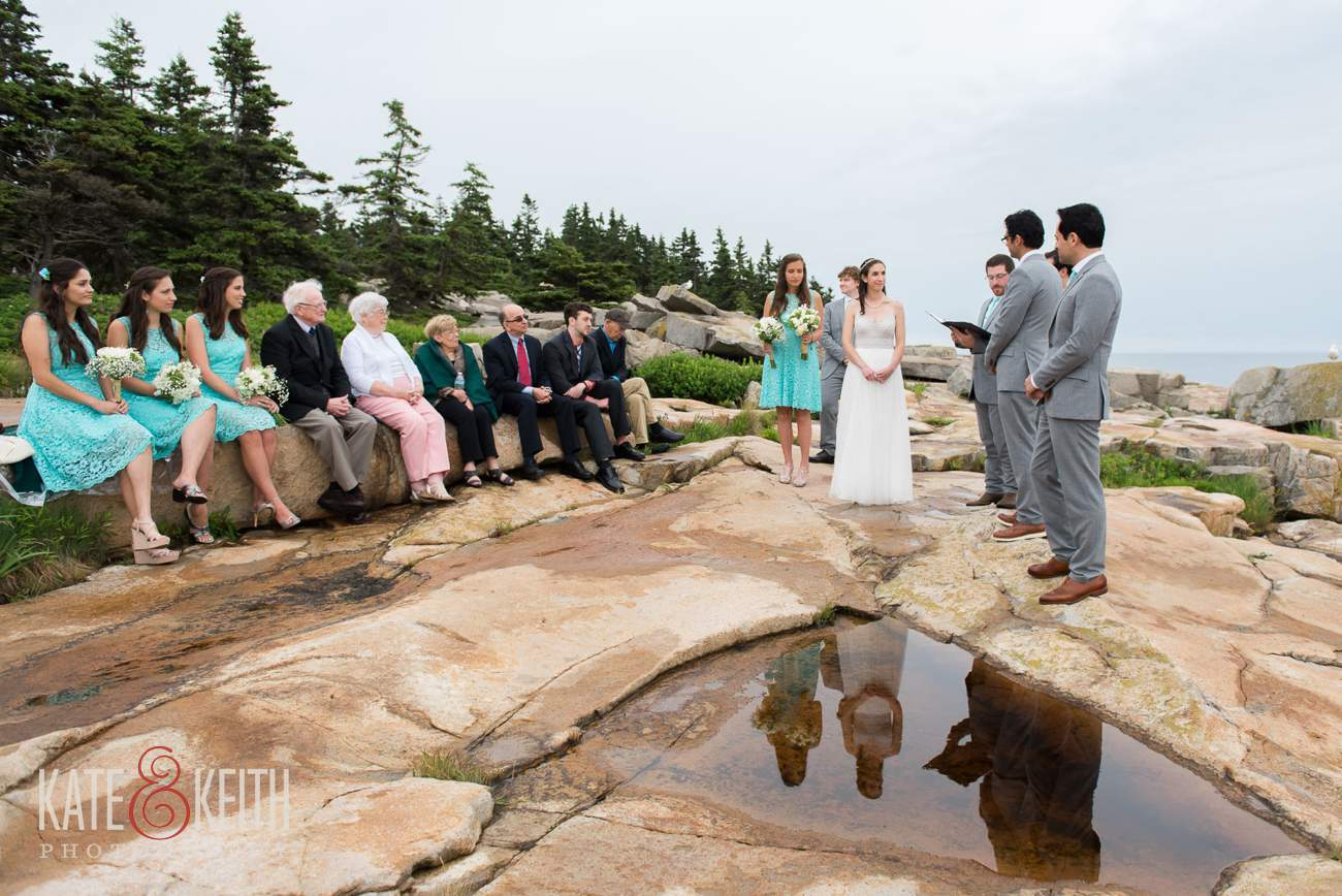 Acadia National Park Wedding Ceremony location