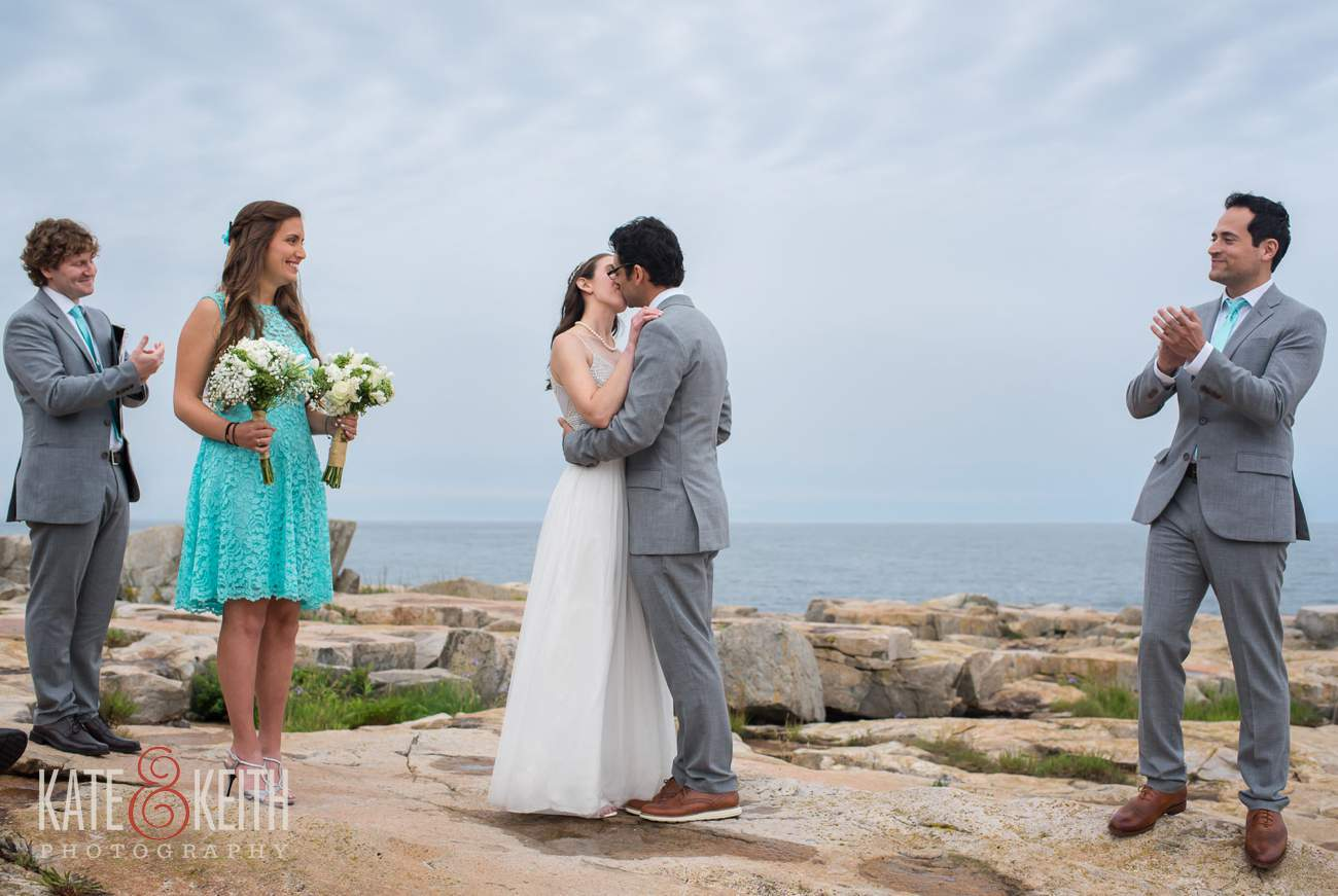 Schoodic Peninsula Wedding Ceremony Location