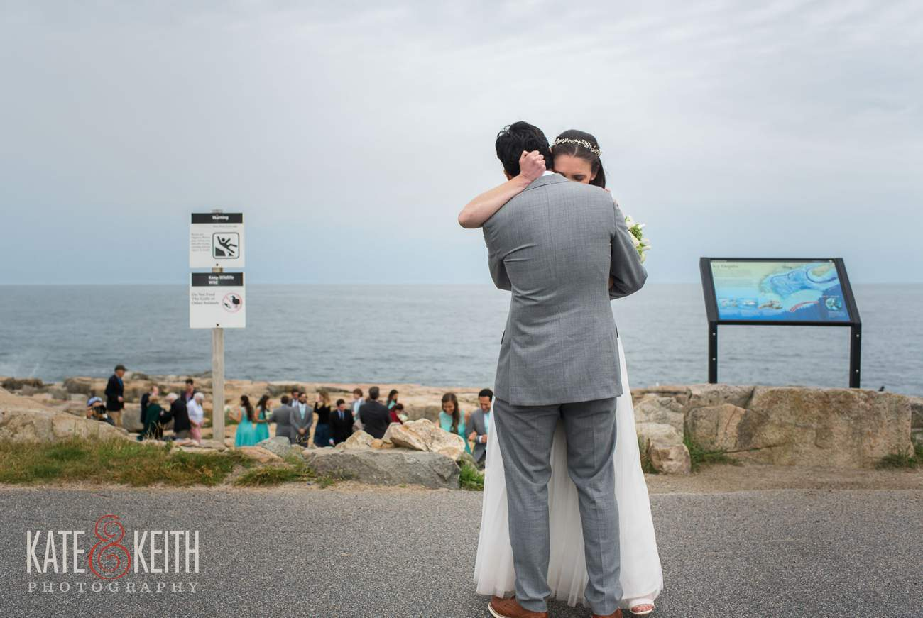 Schoodic Point Acadia National Park Wedding Ceremony Location