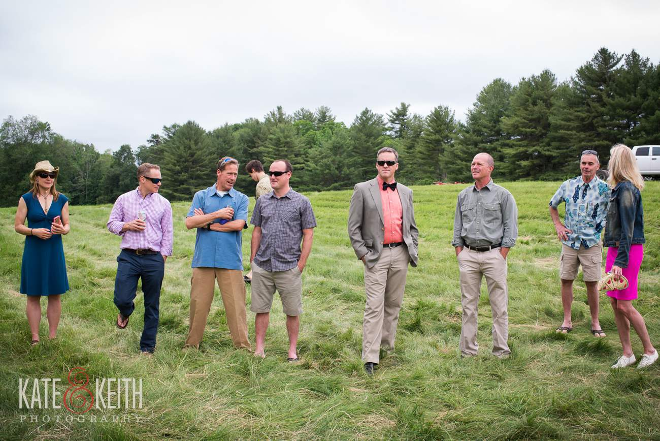 NH real farm wedding