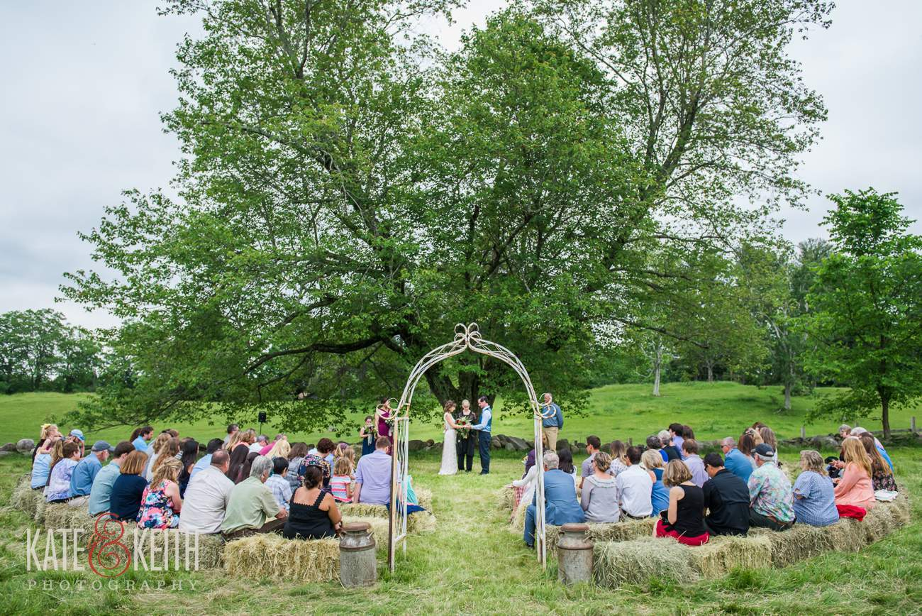 Real Farm wedding New Hampshire