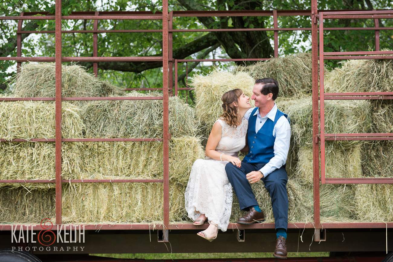 New Hampshire farm wedding photographer