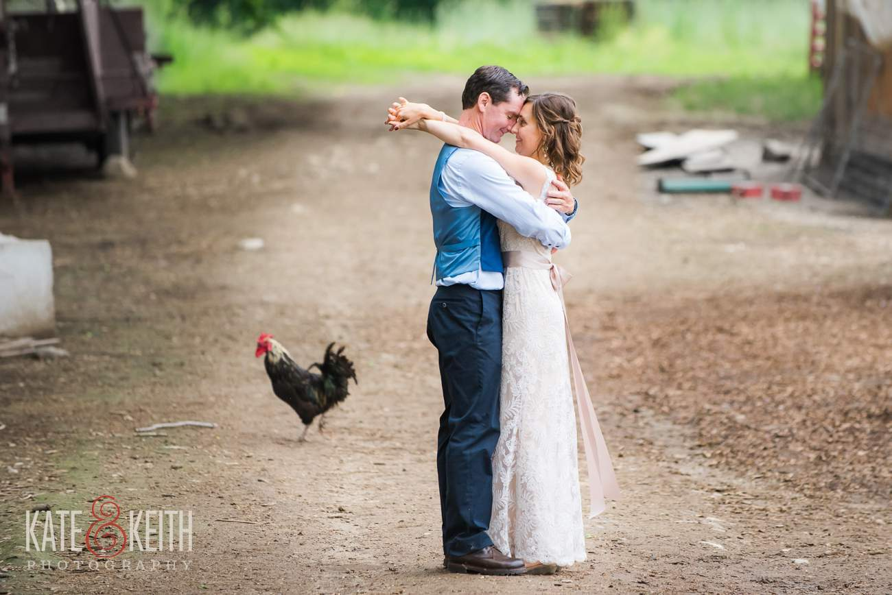 Real working farm wedding Photographers