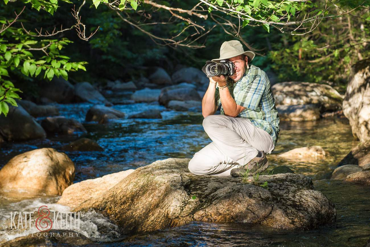 Adventure wedding photographer Keith Tharp