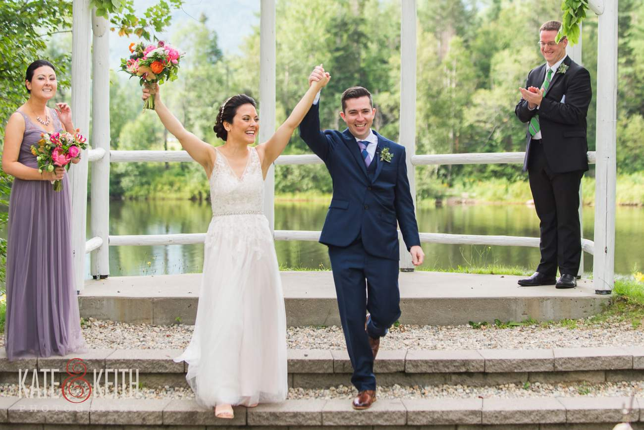 Waterville Valley Resort wedding outdoor ceremony location Osceola Arbor