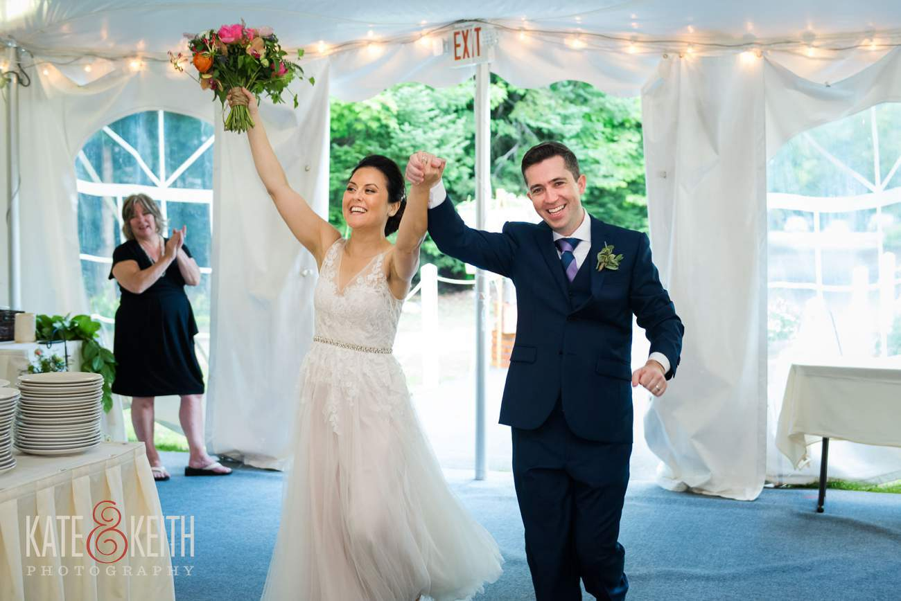Waterville Valley Resort wedding tent reception