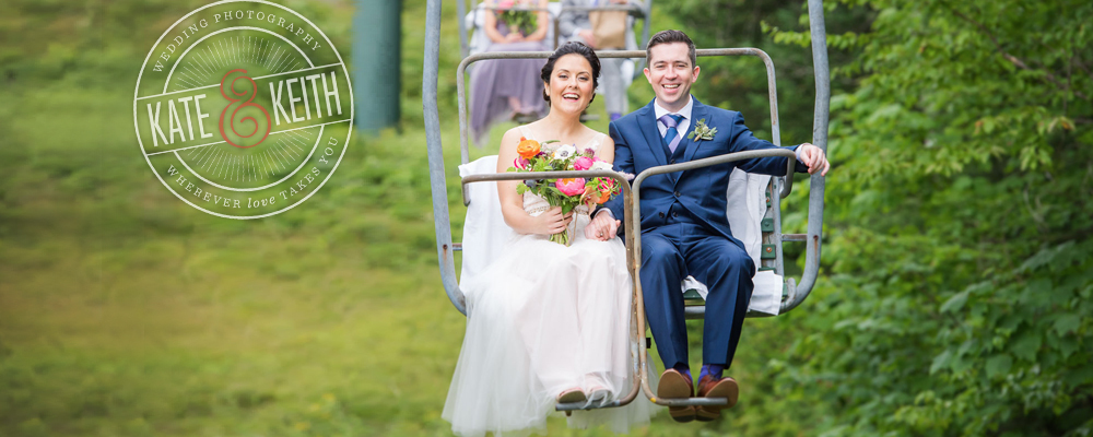 waterville valley wedding photographers new hampshire