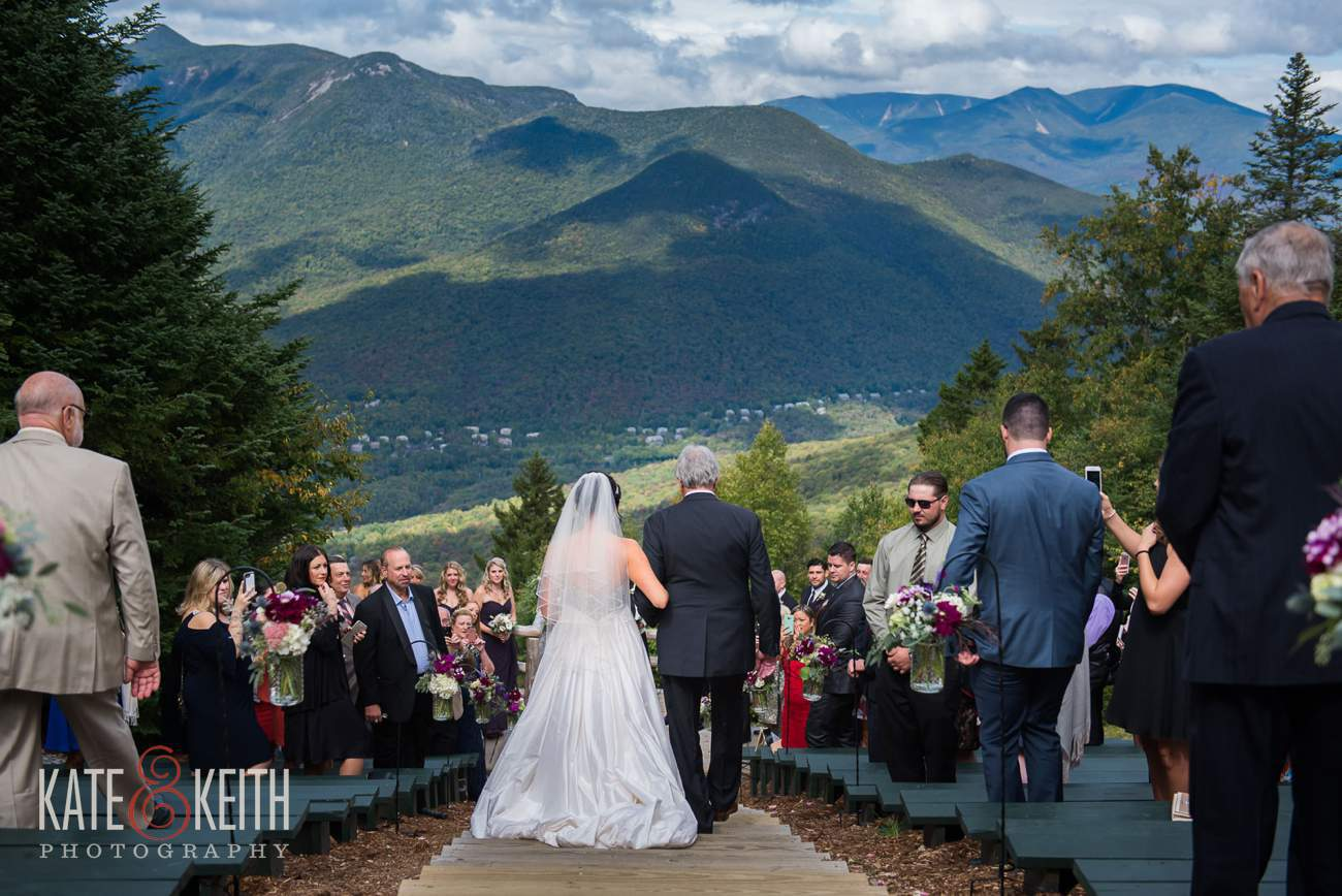 Loon Mountain wedding ceremony location