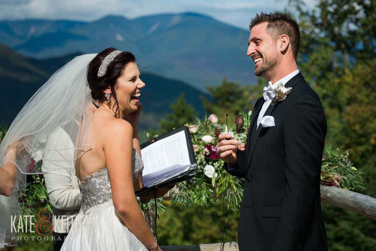 Loon Mountain wedding photographers