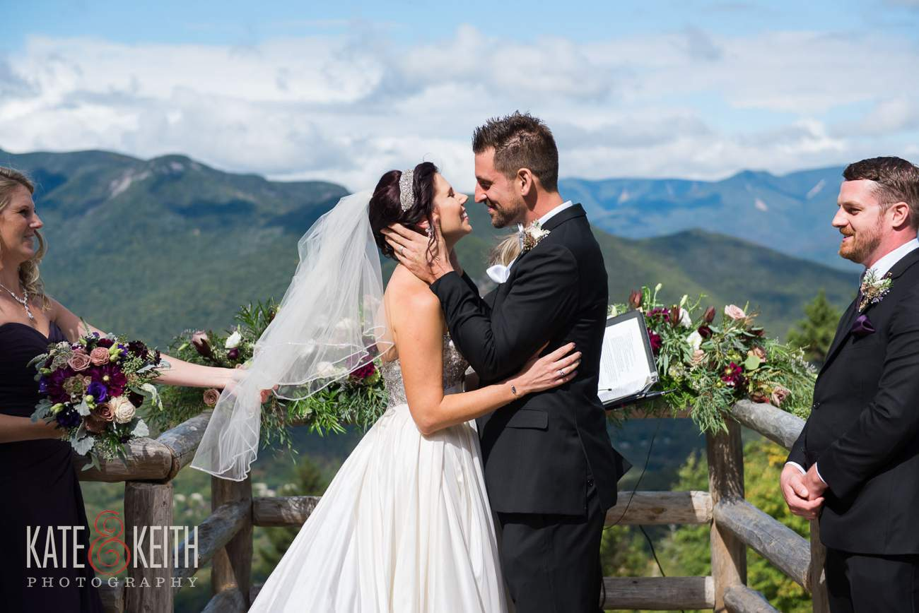 Loon Mountain wedding photographers