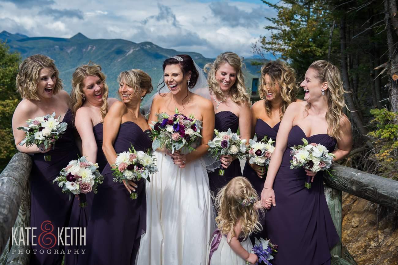 Loon Mountain wedding formal photos