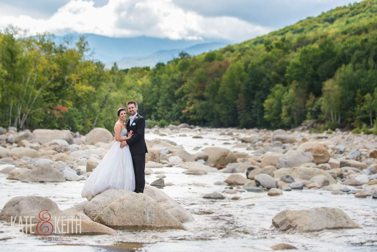White mountains wedding photos adventure