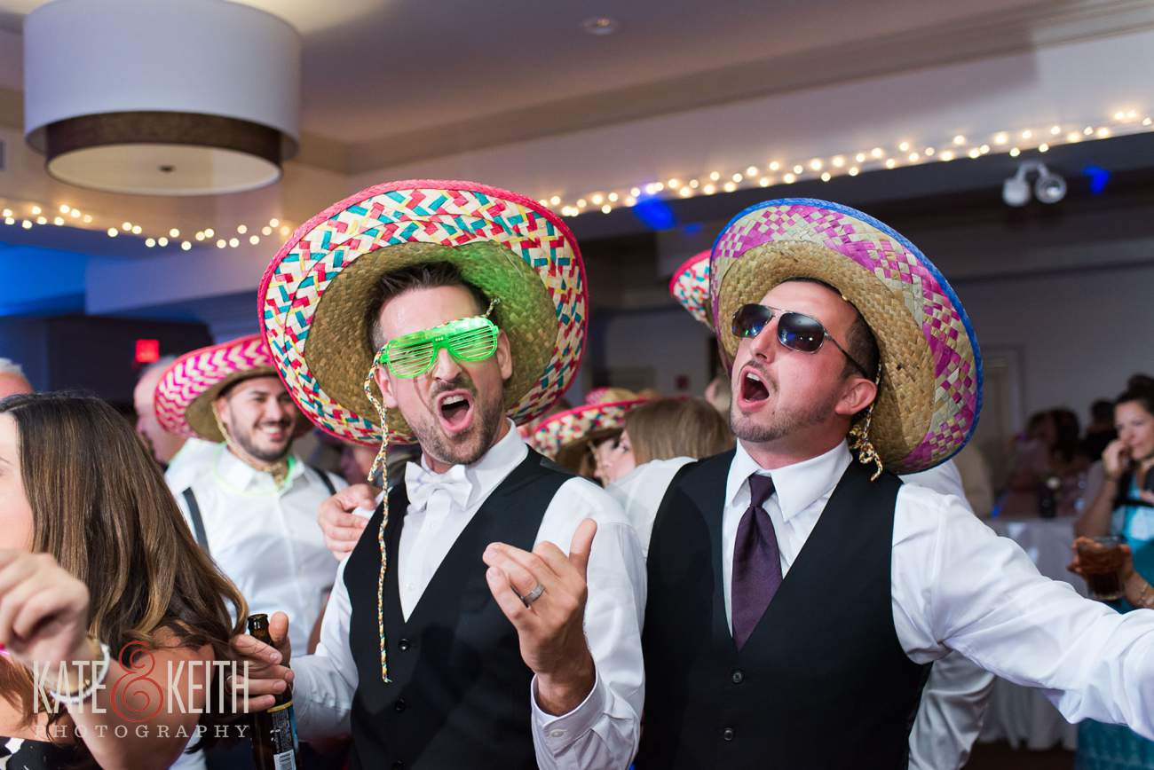 Groom in sombrero