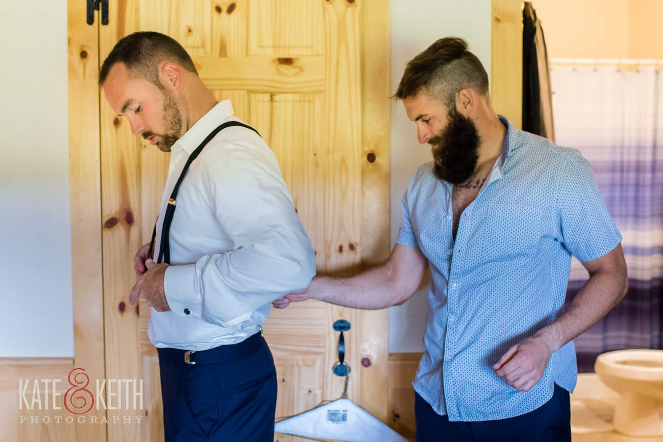 Lake shore Village Resort groom prep