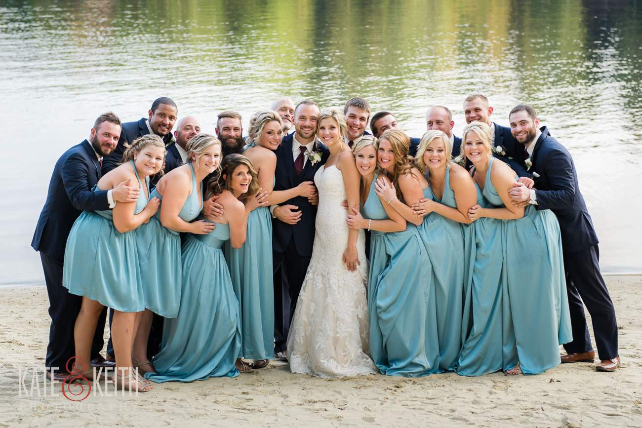 Photo ideas casual wedding party