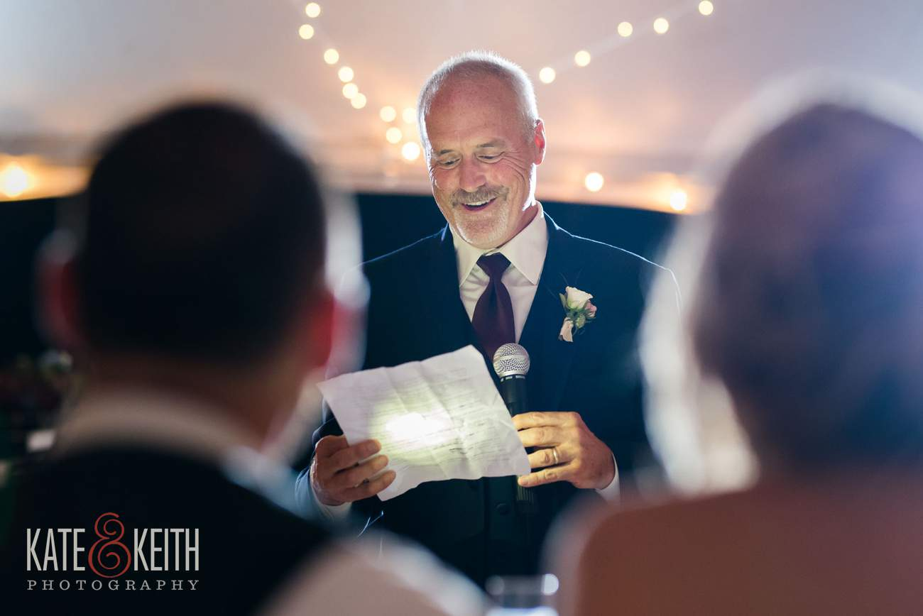 Father of groom toast