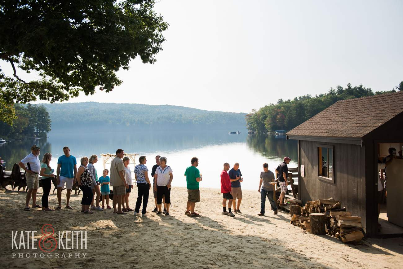 Lake Shore Village Resort Wedding Pancake Hut