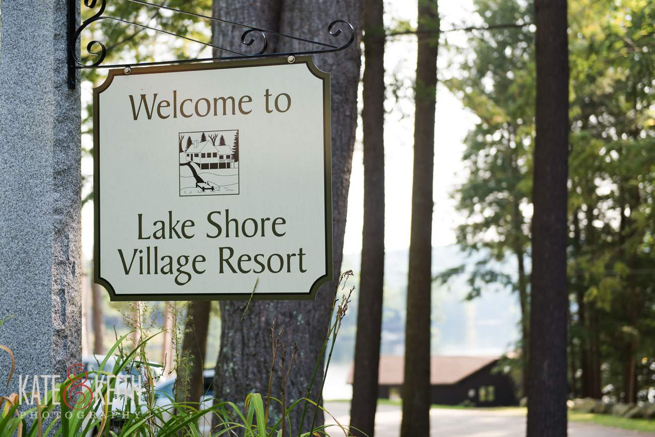 Lake Shore Village Resort Wedding Photographer