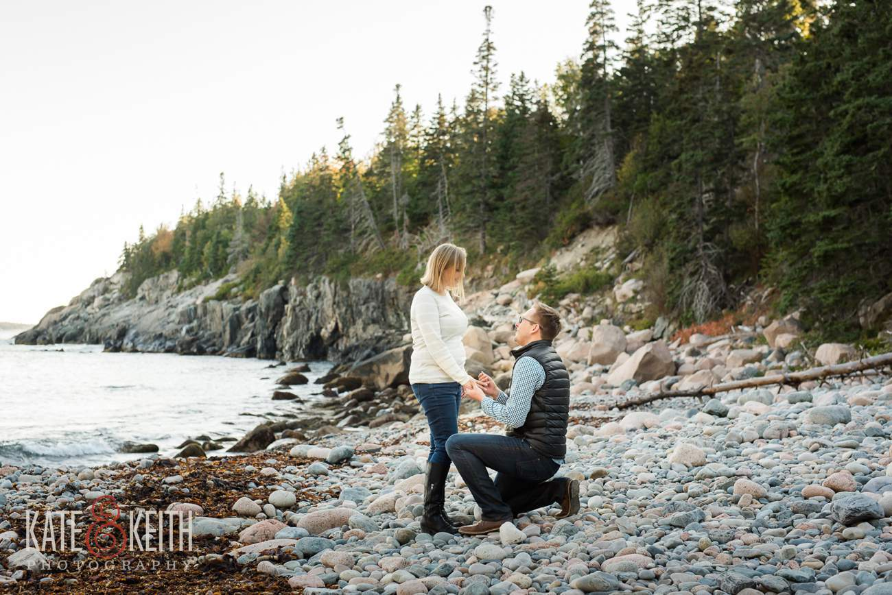 Best place to propose in Acadia National Park