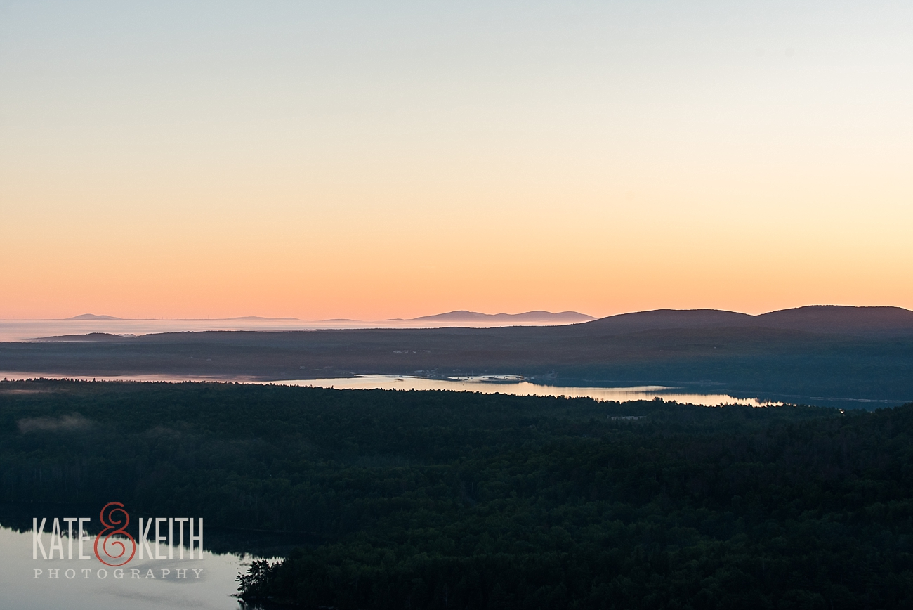 Early morning in Acadia National Park