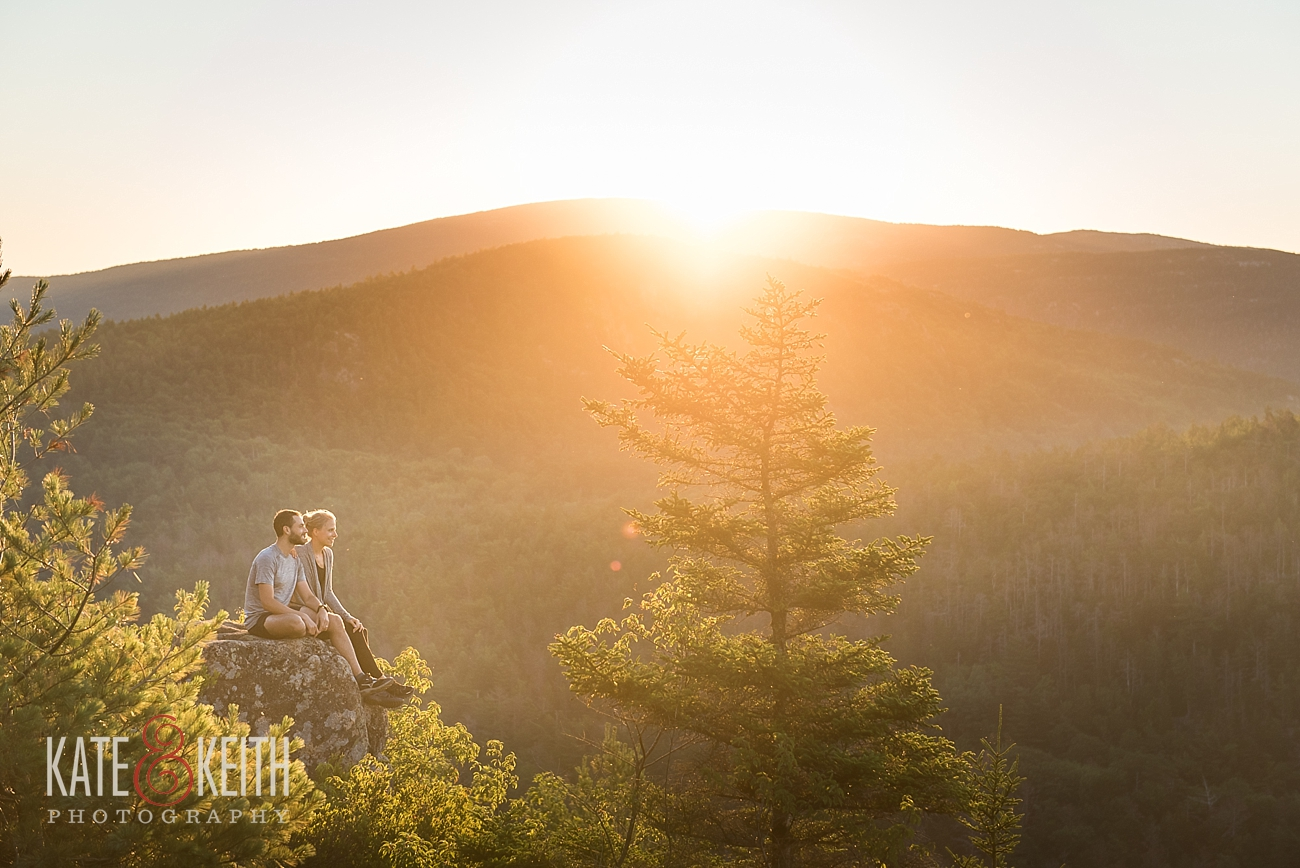 Sunrise Hiking in Acadia National Park