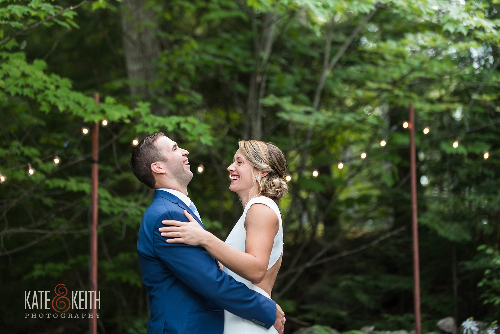 New Hampshire Backyard wedding photos