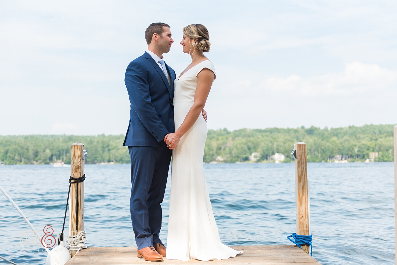 NH Lake Wedding