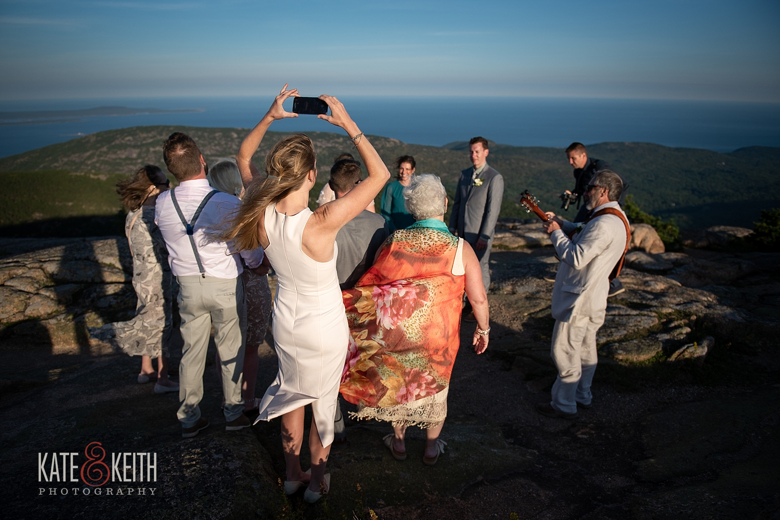 Photos Acadia National Park Wedding ceremony