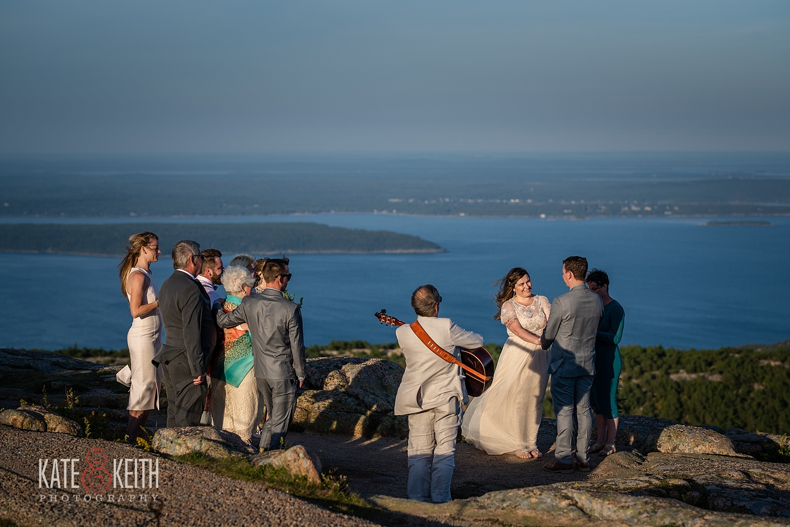 Acadia National Park Wedding scenery photos