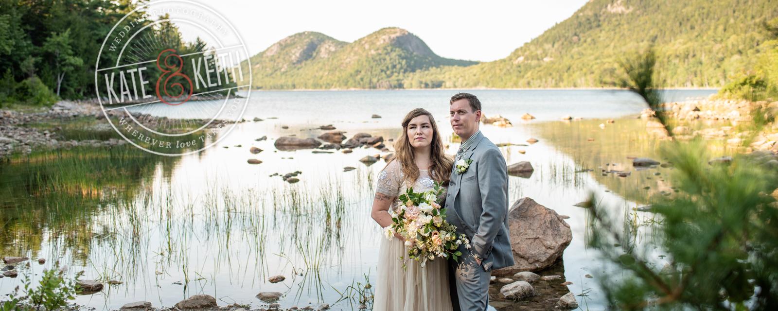 Jordan Pond Wedding