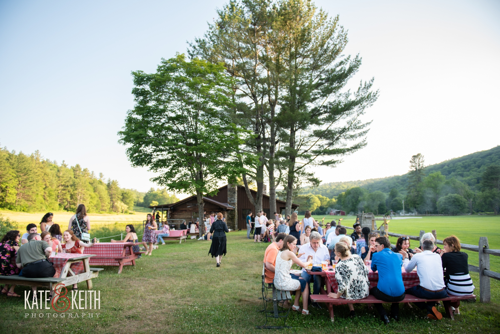 Grafton Trails and Outdoor Center rehearsal dinner bar-b-que