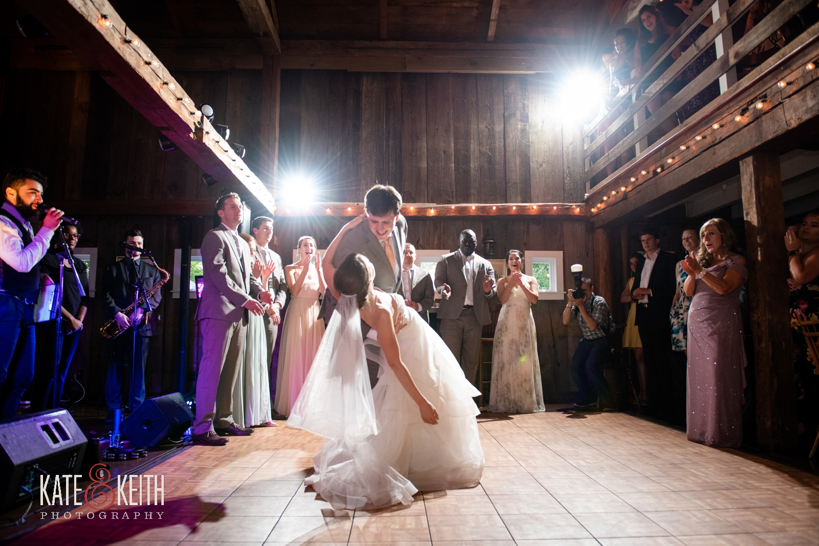 Grafton Inn Vermont wedding first dance