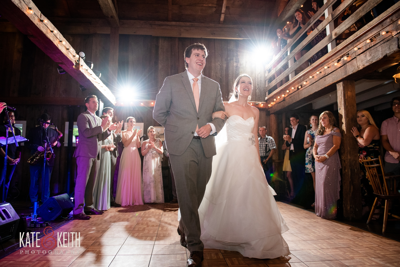 Grafton Inn barn wedding reception Vermont