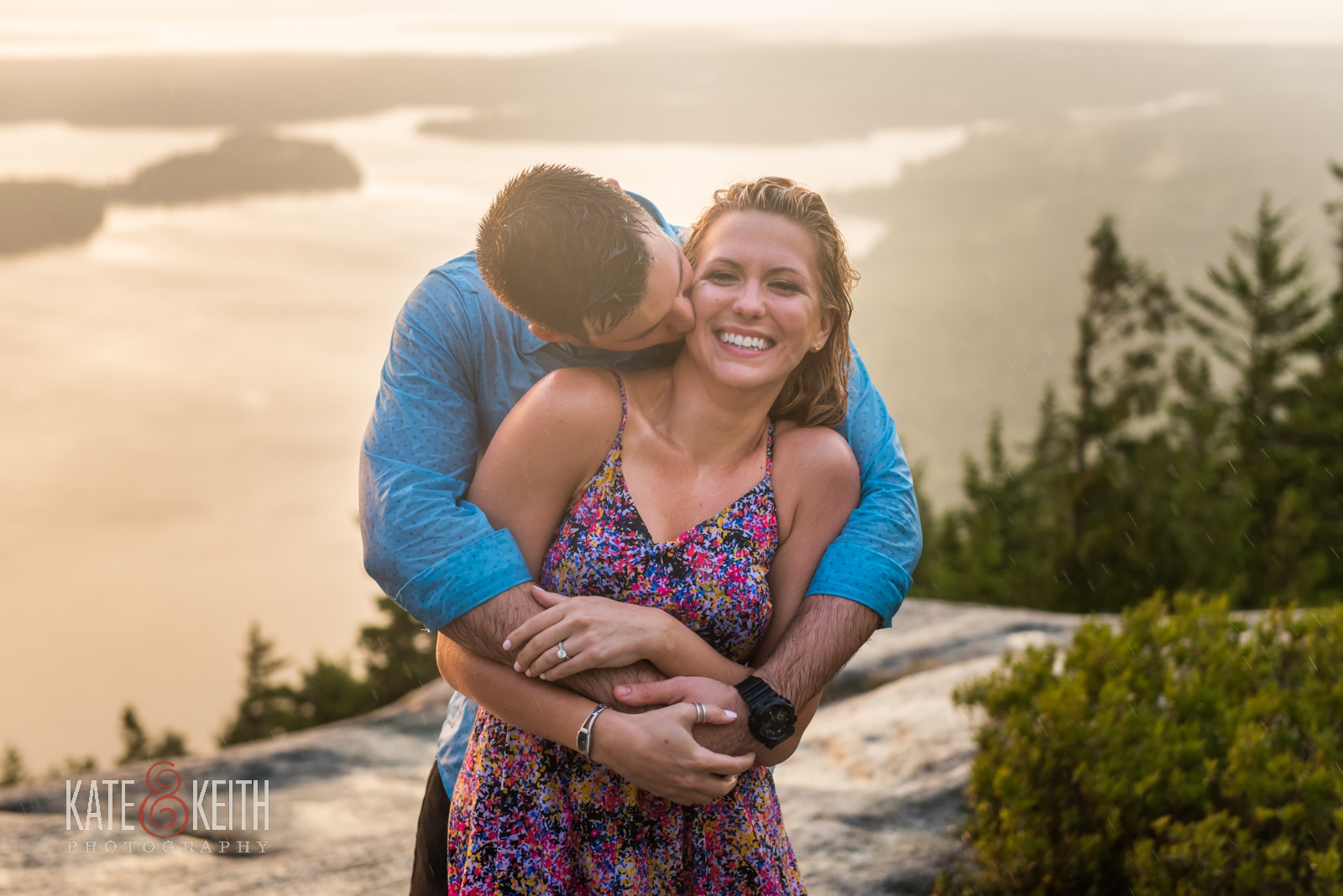 adventure wedding photography Acadia National Park