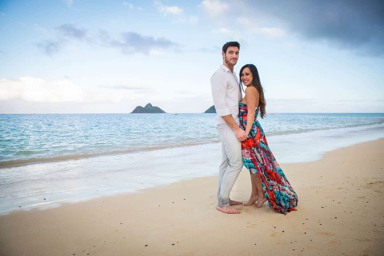 Kailua Hawaii Engagement