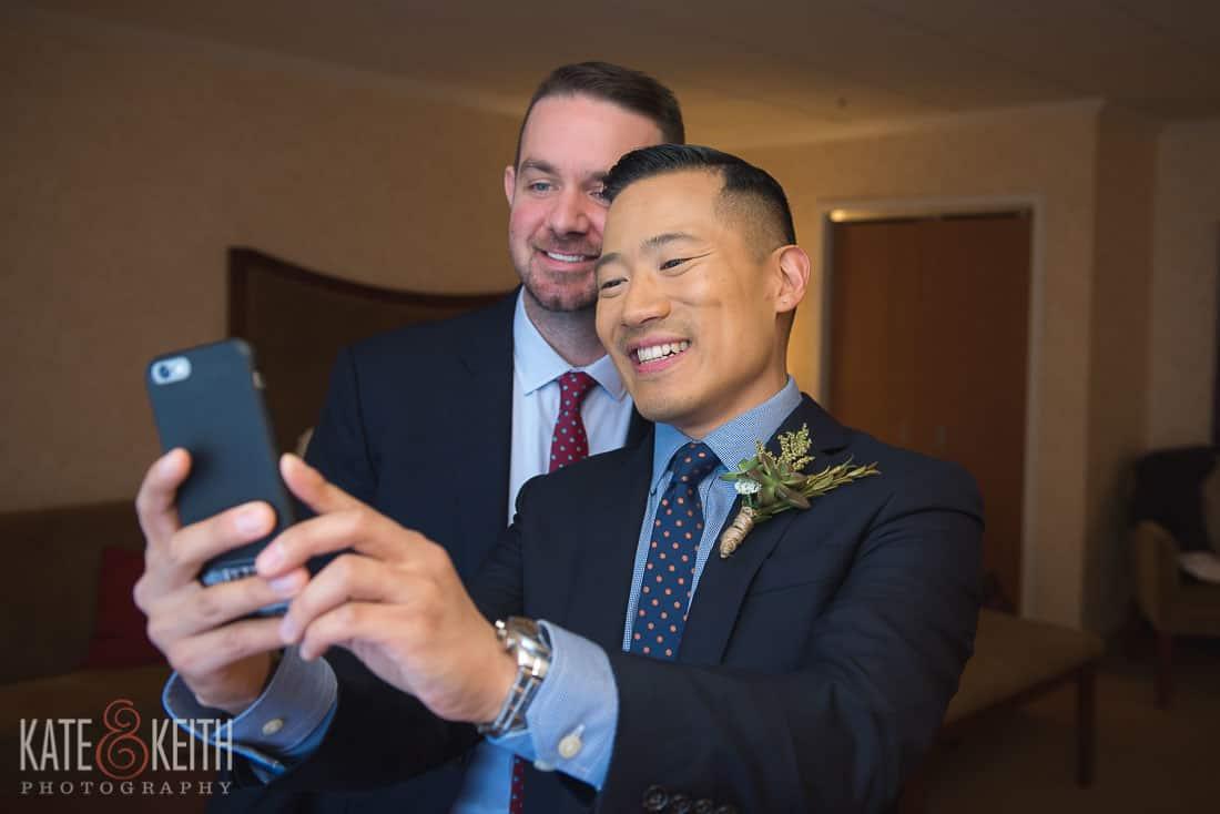 New York Wedding gay couple