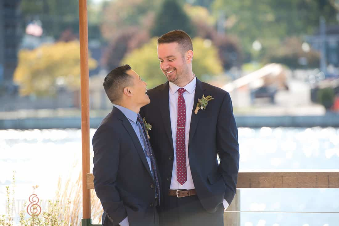 two grooms married photos